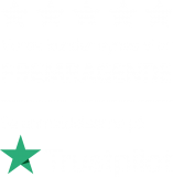 BOLIGNET Trustpilot BadgeA1 - WHITE (png) - a